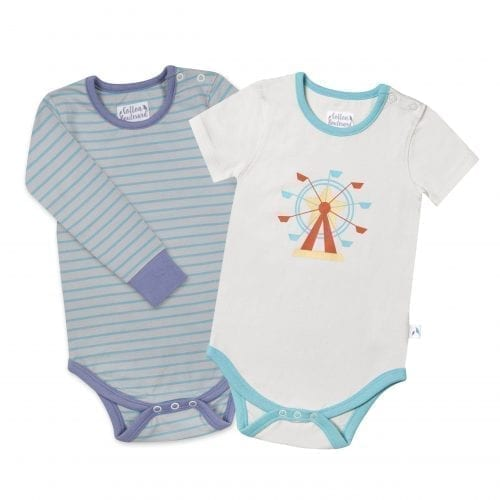 Boys Organic Cotton Bodysuits
