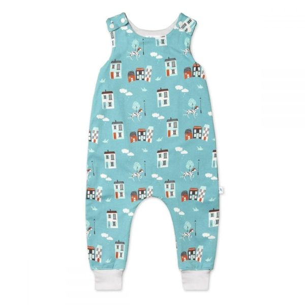 Organic Cotton Dungarees, House Patterns, boys