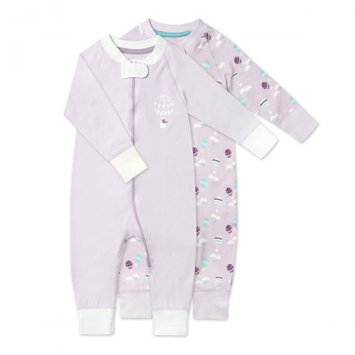 Pure Organic Cotton Romper - set of 2