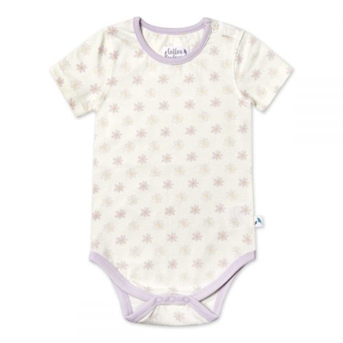 Girls Organic Cotton Short Sleeve Bodysuit