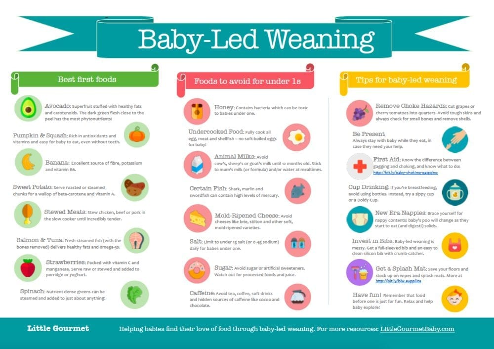 Baby Weaning Foods to avoid